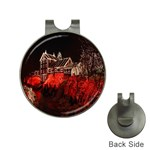 Clifton Mill Christmas Lights Hat Clips with Golf Markers Front