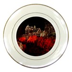 Clifton Mill Christmas Lights Porcelain Plates Front