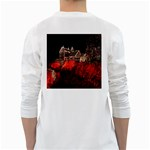 Clifton Mill Christmas Lights White Long Sleeve T-Shirts Back