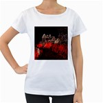 Clifton Mill Christmas Lights Women s Loose-Fit T-Shirt (White) Front