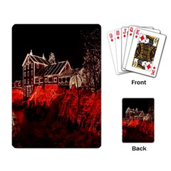 Clifton Mill Christmas Lights Playing Card