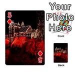 Clifton Mill Christmas Lights Playing Cards 54 Designs  Front - Diamond5