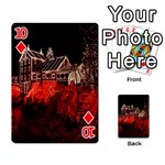 Clifton Mill Christmas Lights Playing Cards 54 Designs  Front - Diamond10