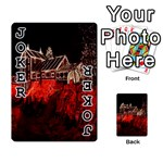 Clifton Mill Christmas Lights Playing Cards 54 Designs  Front - Joker1