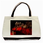 Clifton Mill Christmas Lights Basic Tote Bag Front