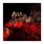 Clifton Mill Christmas Lights Medium Glasses Cloth (2-Side) Back