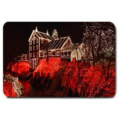 Clifton Mill Christmas Lights Large Doormat