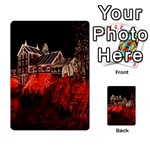 Clifton Mill Christmas Lights Multi-purpose Cards (Rectangle)  Back 45