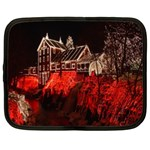 Clifton Mill Christmas Lights Netbook Case (Large) Front