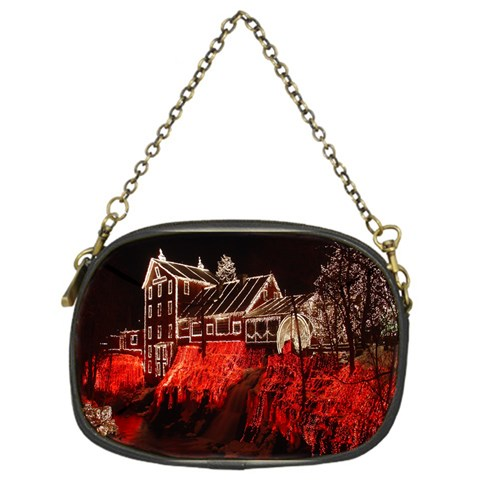 Clifton Mill Christmas Lights Chain Purses (One Side)