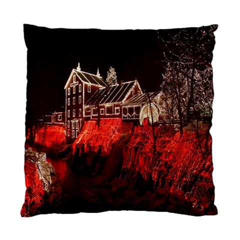 Clifton Mill Christmas Lights Standard Cushion Case (Two Sides)