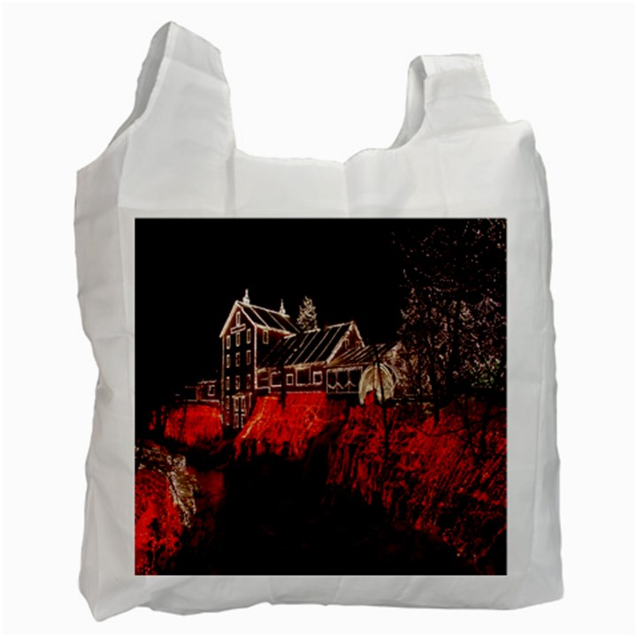 Clifton Mill Christmas Lights Recycle Bag (Two Side)