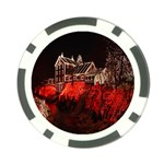 Clifton Mill Christmas Lights Poker Chip Card Guards (10 pack)  Back