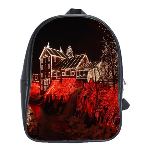 Clifton Mill Christmas Lights School Bags(Large)