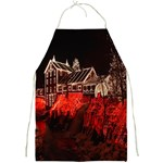 Clifton Mill Christmas Lights Full Print Aprons Front