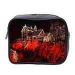 Clifton Mill Christmas Lights Mini Toiletries Bag 2-Side Front