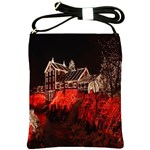 Clifton Mill Christmas Lights Shoulder Sling Bags Front
