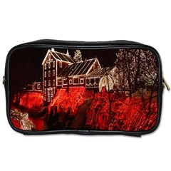 Clifton Mill Christmas Lights Toiletries Bags 2-Side