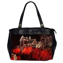Clifton Mill Christmas Lights Office Handbags (2 Sides)