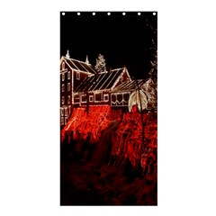 Clifton Mill Christmas Lights Shower Curtain 36  x 72  (Stall)