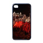 Clifton Mill Christmas Lights Apple iPhone 4 Case (Black) Front