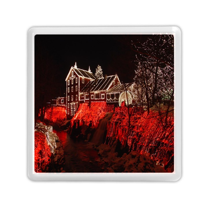 Clifton Mill Christmas Lights Memory Card Reader (Square)