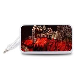 Clifton Mill Christmas Lights Portable Speaker (White)
