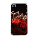 Clifton Mill Christmas Lights Apple iPhone 4 Case (Clear) Front