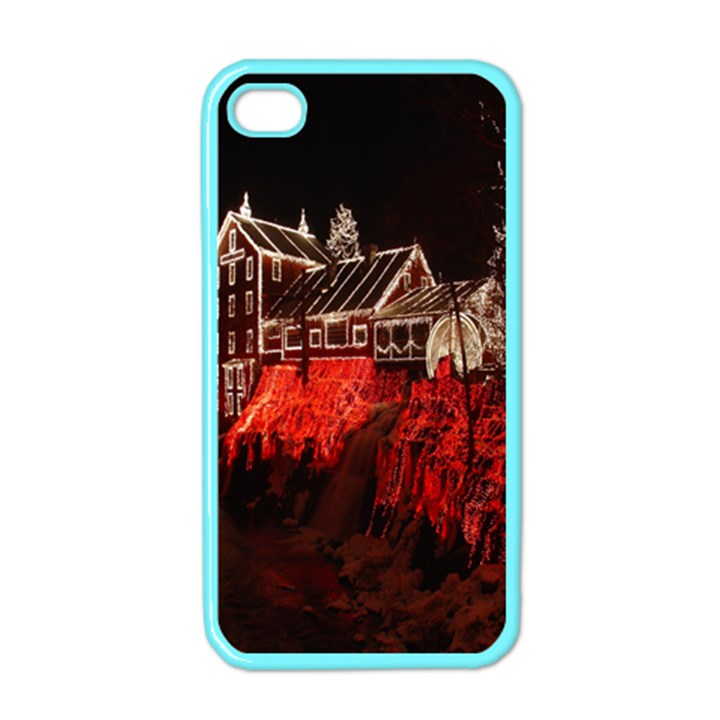 Clifton Mill Christmas Lights Apple iPhone 4 Case (Color)