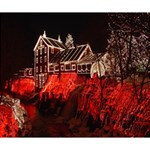 Clifton Mill Christmas Lights Deluxe Canvas 14  x 11  14  x 11  x 1.5  Stretched Canvas