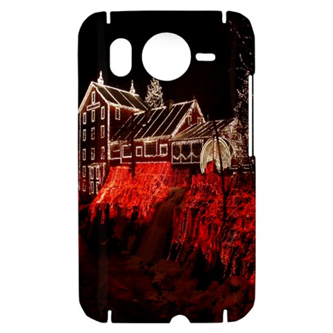 Clifton Mill Christmas Lights HTC Desire HD Hardshell Case