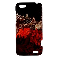 Clifton Mill Christmas Lights HTC One V Hardshell Case