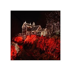 Clifton Mill Christmas Lights Acrylic Tangram Puzzle (4  x 4 )
