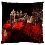 Clifton Mill Christmas Lights Large Cushion Case (Two Sides) Back