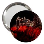 Clifton Mill Christmas Lights 3  Handbag Mirrors Front