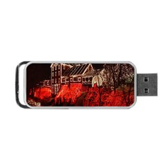 Clifton Mill Christmas Lights Portable USB Flash (Two Sides)
