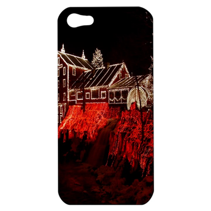 Clifton Mill Christmas Lights Apple iPhone 5 Hardshell Case