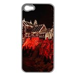 Clifton Mill Christmas Lights Apple iPhone 5 Case (Silver) Front
