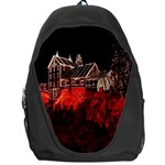 Clifton Mill Christmas Lights Backpack Bag Front