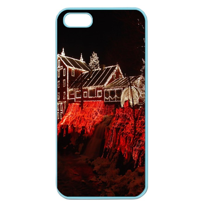 Clifton Mill Christmas Lights Apple Seamless iPhone 5 Case (Color)