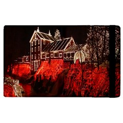 Clifton Mill Christmas Lights Apple iPad 3/4 Flip Case