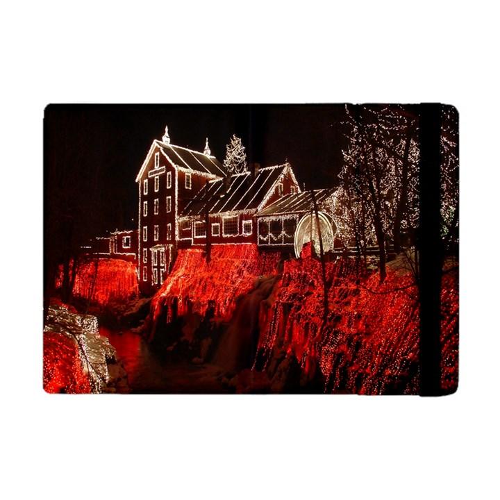 Clifton Mill Christmas Lights Apple iPad Mini Flip Case