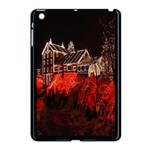 Clifton Mill Christmas Lights Apple iPad Mini Case (Black) Front