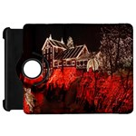 Clifton Mill Christmas Lights Kindle Fire HD Flip 360 Case Front