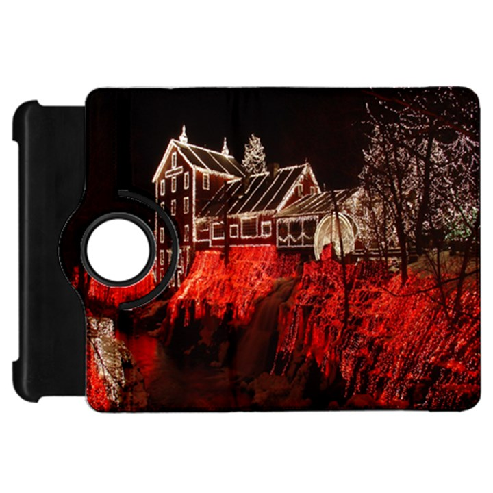 Clifton Mill Christmas Lights Kindle Fire HD Flip 360 Case