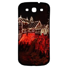 Clifton Mill Christmas Lights Samsung Galaxy S3 S III Classic Hardshell Back Case
