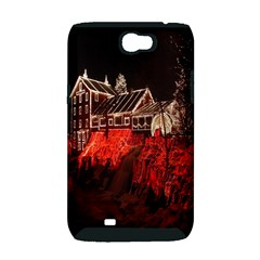 Clifton Mill Christmas Lights Samsung Galaxy Note 2 Hardshell Case (PC+Silicone)