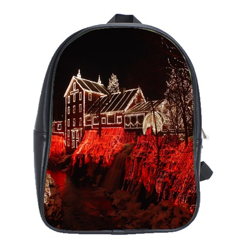 Clifton Mill Christmas Lights School Bags (XL)