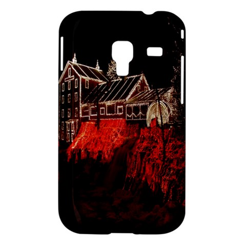 Clifton Mill Christmas Lights Samsung Galaxy Ace Plus S7500 Hardshell Case