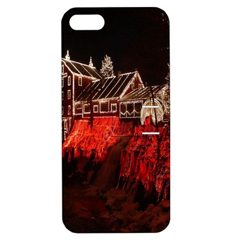 Clifton Mill Christmas Lights Apple iPhone 5 Hardshell Case with Stand